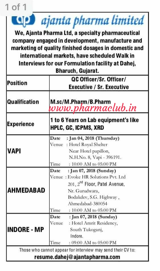 Pharma jobs in shamirpet Archives - Pharmaclub