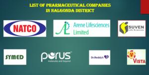 nalgonda pharmaceutical companies