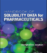 Handbook of solubility data for pharmaceuticals free pharmacy ebooks