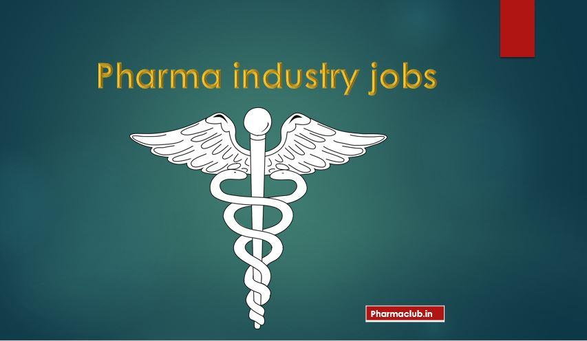msc chemistry jobs in pharma Archives - Pharmaclub