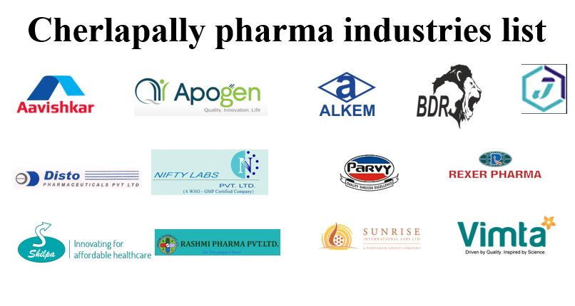 Cherlapally pharma industries list - Location wise list - Pharmaclub
