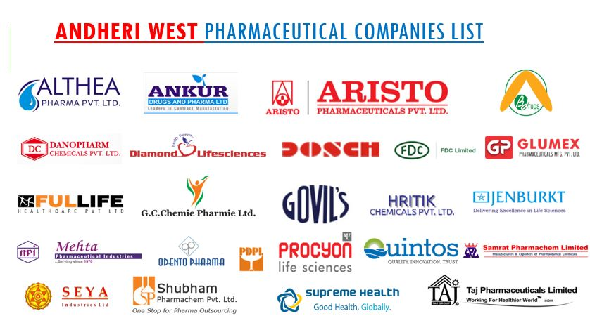 andheri west pharma companies