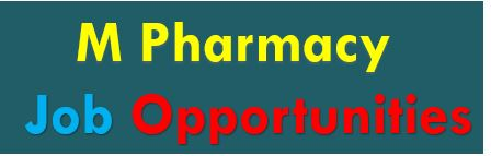 M pharmacy jobs